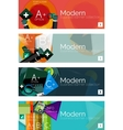 Collection of flat web infographic concepts and vector image