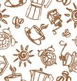 good morning pattern vector image