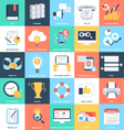 Business Concepts Icons 4 vector image