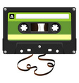 audio cassette vector image