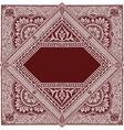 Persian Rug Vector Image