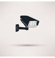 Camera hours security surveillance camera or CCTV vector image