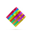 Abstract Square Logo For Your Business vector image