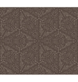 Abstract vintage brown seamless pattern vector image