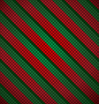 Christmas mosaic background vector image