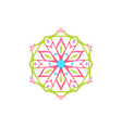 Snowflake Christmas Decoration Isolated vector image