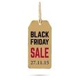 Black Friday sale Realistic vector image