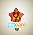 pet care logo 7 vector image