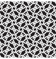 Seamless pattern of intersecting polygons vector image