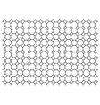 Octagon pattern wallpaper vector image vector image