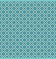 blue rhombuses seamless pattern vector image