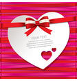 gift cardbeautiful card vector image