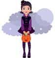 Gothic Lolita Halloween vector image