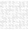 seamless Greek ornament Meander vector image