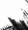 Grunge background half vector image