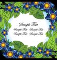 floral page vector image vector image