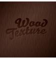 Dark wooden texture vector image