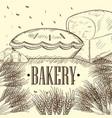 vintage bakery vector image