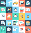 Business Concepts Icons 5 vector image