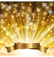 tape on gold vector image