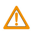 alert signal isolated icon vector image