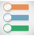 paper template design vector image
