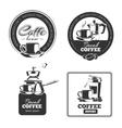 coffee making vector image