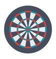 dartboard for darts game vector image vector image