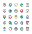 Love and Romance Cool Icons 2 vector image