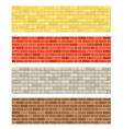 Brick wall textures vector image