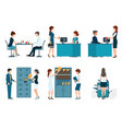 office people vector image