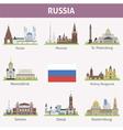 Russia vector image