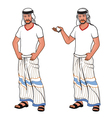 Handsome Arabic Man vector image