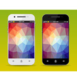 Cellphones vector image vector image