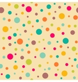 Bright seamless pattern with polka dots vector image