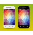 Cellphones vector image