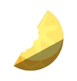 pineapple fresh fruit isolated icon vector image