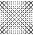 Mosaic Circles Patter vector image