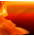 Fire abstract background template EPS8 vector image