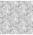swirl seamless background vector image vector image