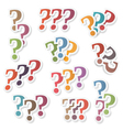 Question Marks vector image vector image
