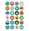 Flat SEO and Marketing Icons 2 vector image