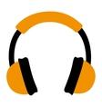 headset audio isolated icon vector image