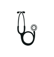 Medical endoscope icon vector image