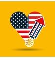 independence day celebration design vector image