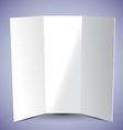 Tri Fold Brochure vector image
