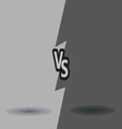 Versus letters fight backgrounds comics style vector image