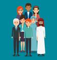 Diversity people concept vector image