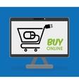Digital marketing and ecommerce design vector image