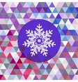 retro pattern of geometric shapes with vector image
